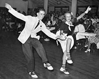 1940s Swing Dancers Photo