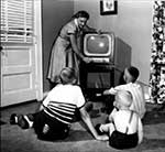 The 1950s Home TV Set