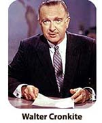 Walter Cronkite Presentation Photo