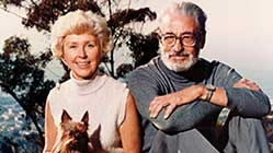 Dr Seuss and wife Helen Palmer
