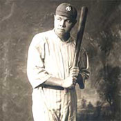 Babe Ruth Portrait