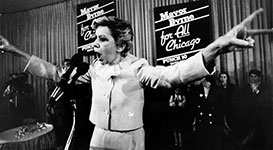 Jane Byrne Chicago Mayor Campaigning