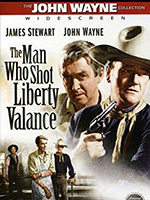 John Wayne movie poster Man who shot liberty Valence