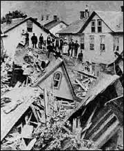 Johnstown Flood Damage