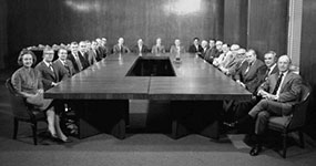 Katharine Graham in Conferrence Room