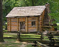 Abraham Lincoln Log Cabin