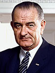 Lyndon B Johnson Headshot