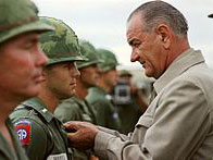 Lyndon B. Johnson visit to Vietnam