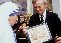 Mother Teresa Nobel Peace Prize