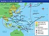 Battle of Okinawa Map