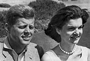 Jackie and John F. Kennedy