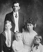 Nixon family of origin photo