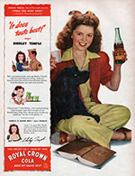 Shirley Temple Cola Ad