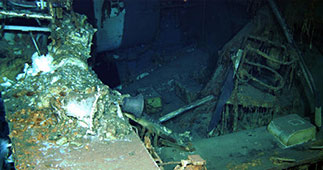 The USS Indianapolis Undersea Wreckage