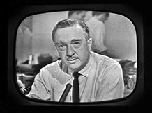 Walter Cronkite on TV