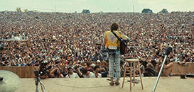 singer at the Woodstock Music Festival
