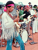 Jimmy Hendrix at Woodstock