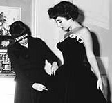 Edith Head with Hollywood Star