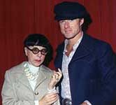 Edith Head with Robert Redford