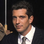 John F Kennedy Jr Head shot