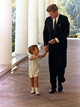 John F Kennedy with son John F Kennedy Jr