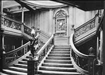 Interior opulance of the Titanic